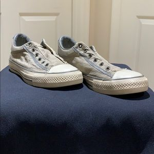 Converse sneakers with bag